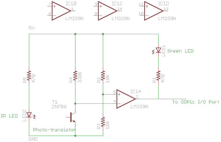 Infrared Detector Schematic